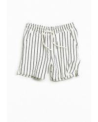 Urban Outfitters - Uo Lucian Referee Stripe Short - Lyst
