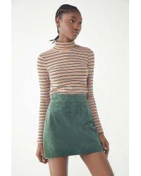 Urban Renewal - Vintage Suede Mini Skirt - Lyst