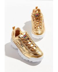 Fila - Fila Disruptor Ii Metallic Sneaker - Lyst