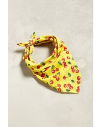 Urban Outfitters - Uo Allover Cherry Bandana - Lyst