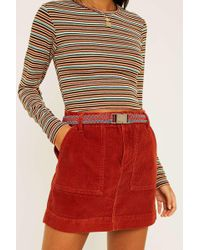 Urban Outfitters - Uo Woven Plaited Belt - Womens S/m - Lyst
