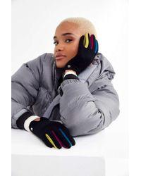 Echo - Colorblock Fourchette Glove - Lyst