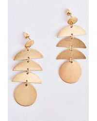 Urban Outfitters - Moon Phases Statement Earrings - Lyst