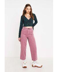 BDG - Wren Purple Trousers - Womens 30w - Lyst