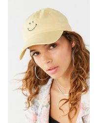 Urban Outfitters - Smiley Face Baseball Hat - Lyst