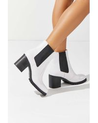 Urban Outfitters - Uo Alex Square Toe Chelsea Boot - Lyst