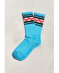 Urban Outfitters - Zig Zag Sport Sock - Lyst