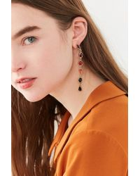 Urban Outfitters - Ombre Stone Statement Drop Earring - Lyst