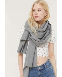 Urban Outfitters Uo Basic Woven Blanket Scarf