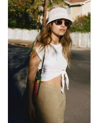 Urban Outfitters Uo Ella Woven Bucket Hat