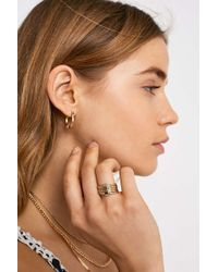 Urban Outfitters - Clean Gold Knot Ring - Lyst
