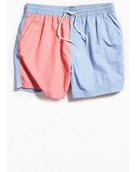 Urban Outfitters - Uo Colorblocked Swim Short - Lyst
