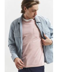 Urban Outfitters - Uo Standard-fit Feeder Stripe Tee - Lyst