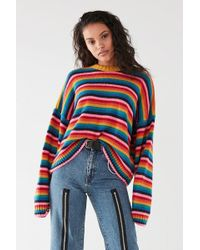 The Ragged Priest - The Ragged Priest Glow Kit Rainbow Sweater - Lyst
