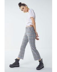 Lazy Oaf - Checkered Kick Flare Pant - Lyst