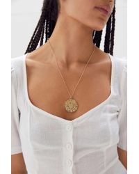 Urban Outfitters - Zodiac Statement Pendant Necklace - Lyst