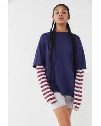 Truly Madly Deeply - Layered Long Sleeve Top - Lyst
