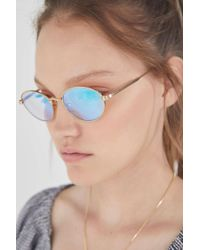 8b5ac3f5dcb83 Quay Exclusive Lana Sunglasses In Rose Gold in Metallic - Lyst