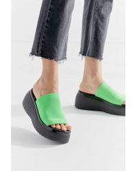 Steve Madden Uo Exclusive Slinky Slide Platform Sandal