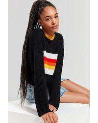 The Ragged Priest - The Ragged Priest Somedays Striped Sweater - Lyst