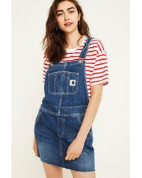 Carhartt WIP - Denim Bib Pinafore Dress - Lyst