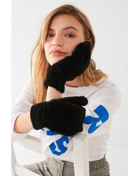 Urban Outfitters - Chenille Mitten - Lyst