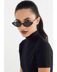 Urban Outfitters - Nova Slim Cat-eye Sunglasses - Lyst