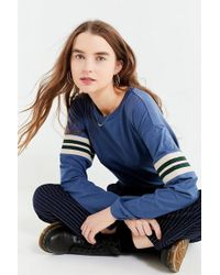 Urban Outfitters - Uo Tipped Striped Long Sleeve Tee - Lyst