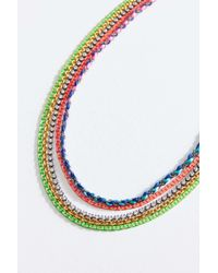 Venessa Arizaga - Chasing Rainbows Necklace - Lyst