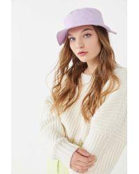 19c4321340ec7 Urban Outfitters - Uo Mia Nylon Bucket Hat - Lyst