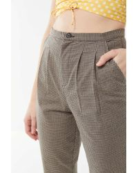 Urban Renewal - Remnants Check Trouser Pant - Lyst