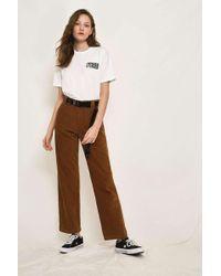 Dickies - Brown Corduroy Trousers - Womens 30w - Lyst