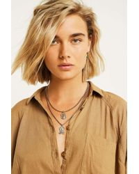Urban Outfitters - Sovereign Pendant Layering Necklace - Womens All - Lyst
