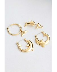 Cheap Monday - Dolphin Earrings Party Pack - Lyst