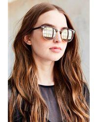 Urban Outfitters | Skylar Half-frame Sunglasses | Lyst