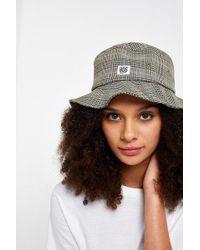 BDG - Checked Bucket Hat - Lyst