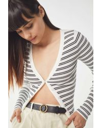 Urban Outfitters - Circle Buckle Belt - Lyst
