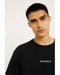 Urban Outfitters - Uo Redemption Black T-shirt - Lyst