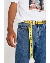 db51ce1172b24 Lacoste Croc Logo White Belt - Mens All in White for Men - Lyst