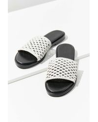 Urban Outfitters - Basket Weave Slide - Lyst