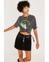 Urban Outfitters - Nasa Washed Black T-shirt - Womens Xs - Lyst