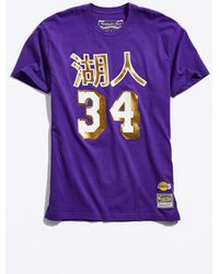 0543a6f5a Mitchell   Ness - Chinese New Year Los Angeles Lakers Shaquille O neal Tee -