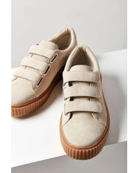 Urban Outfitters - Hollie Three-strap Creeper Women's Sneaker - Lyst