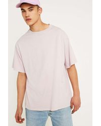 Urban Outfitters - Uo Dusty Pink Pigment Dyed Dad T-shirt - Lyst