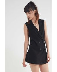 Blaque Label - Double-breasted Blazer Dress - Lyst