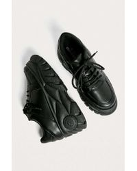 Urban Outfitters - Uo Tyson Black Chunky Trainers - Lyst