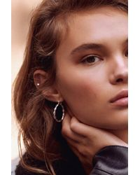 Urban Outfitters - Vanessa Twisted Hoop Earring - Lyst