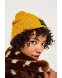 Urban Outfitters Contrasting Pom Pom Ribbed Beanie - Womens All in ... c2f4c23ddfc6