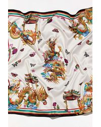 Urban Outfitters Dragon Bandana - Multicolor