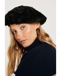 Urban Outfitters - Fuzzy Beret - Lyst